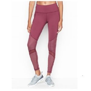 VICTORIA'S SECRET SPORT MID RISE POCKET TIGHT new